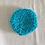 Thumbnail: Waschbare Kosmetik Pads - Türkis - Einzeln