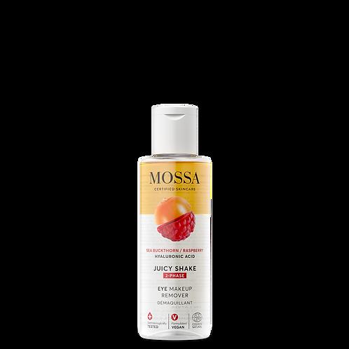Mossa Certified Cosmetics Juicy Shake natürlicher Augenmakeup Entferner