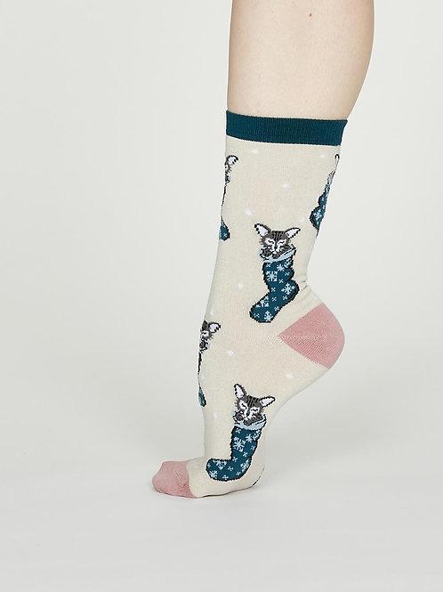 Jena Bamboo Socks - Vanilla