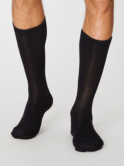 Jimmy Bamboo Socks - Black
