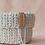 Thumbnail: Crochet Körbchen cream - Large