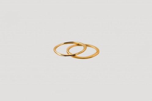 ring gold matt glänzend nachhaltig bewusst ethisch fair julia otilia your green boutique
