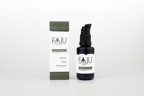 Faju High Performance Skincare Soothing Serum bei Problemhaut, hochwirksames Serum aus Ölen und Pflanzenextrakten
