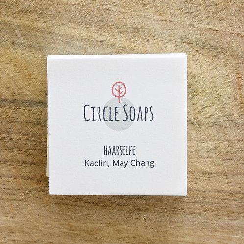 Circle Soaps Haarseife Kaolin & May Chang, natürlich, vegan, handgemacht im Zürcher Oberlandt