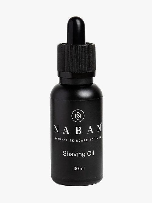 NABAN natürliches Rasieröl für Männer, Made in Switzerland