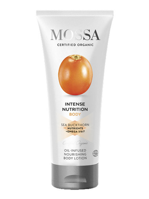 Mossa Certified Cosmetics Intense Nutrition Nourishing Body Cream, natürliche Bodylotion, nährend mit Öl -