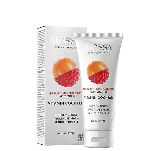Mossa Certified Cosmetics Energy Boost Mask & Night Cream, natürliche Nachtcreme ethisch nachhaltig