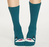 spw431-teal-blue--ladies-fuzzy-animal-or