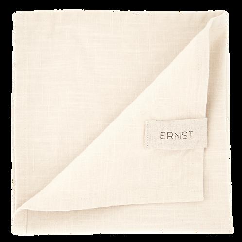 Ernst Stoffservietten Baumwolle beige