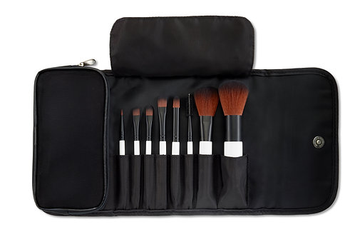 Mini 8 Piece Brush Set - Reisepinselset