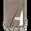 Decke Ernstform Ernst Baumwolldecke Tagesdecke Überwurf braun taupe