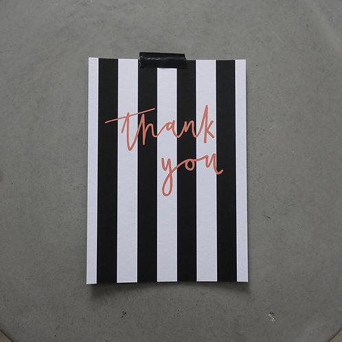 thank you - Karte A5