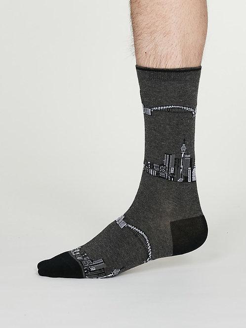 Monument Cotton Socks