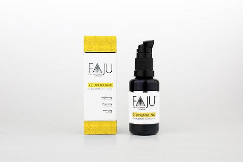 Faju High Performance Skincare Rejuvenating Serum für Strahlkraft, hochwirksames Serum aus Ölen und Pflanzenextrakten