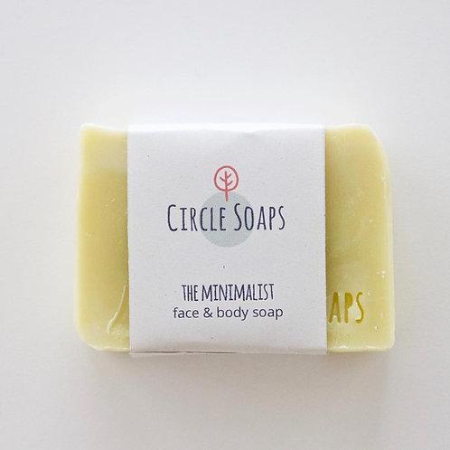 Circle Soaps The Minimalist Gesicht- & Körperseife, ohne Duft, natürlich, vegan, handgemacht im Zürcher Oberlandt