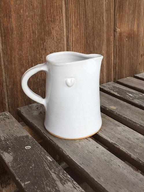 Västergården Kännchen Bultande Hjärta, Keramik handgemacht in Schweden