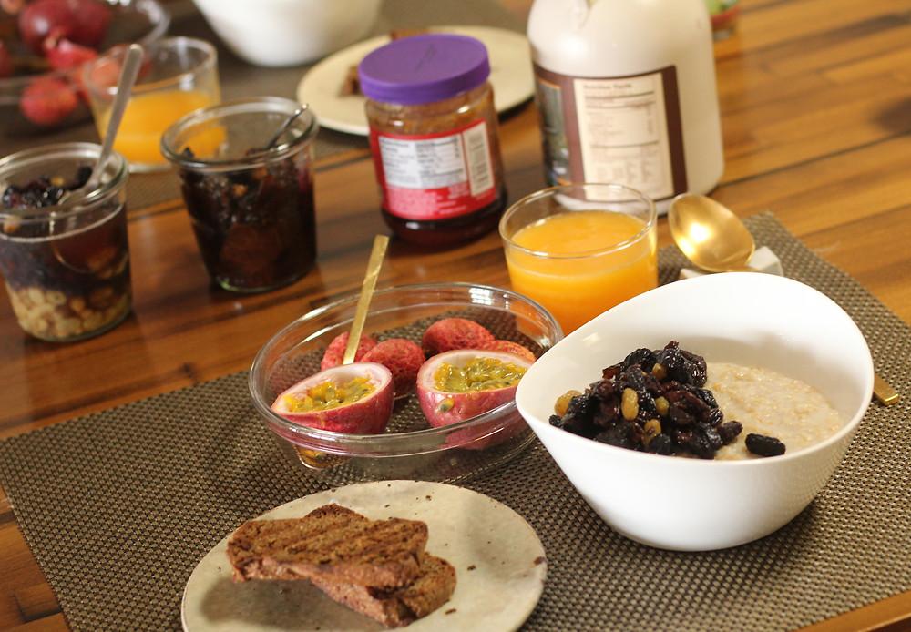 ゲルソン療法の朝食