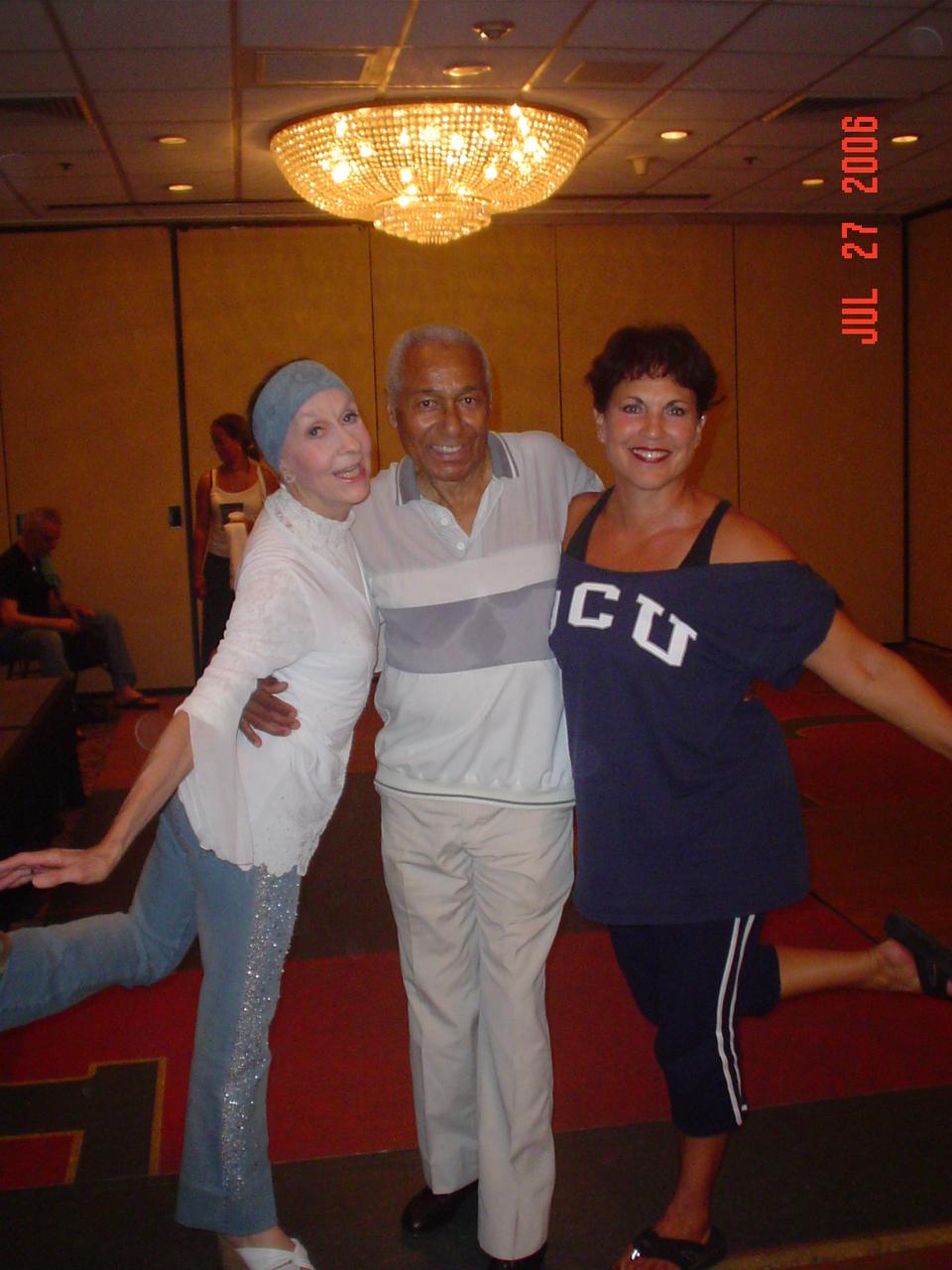 Jo Rowan, Arthur Duncan, and me