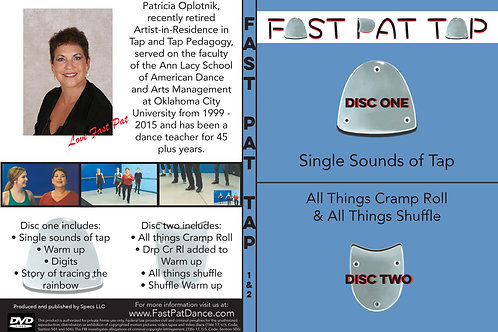 Fast Pat Tap 4 DVDs