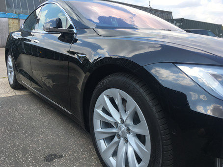 Tesla Model S - Feynlab Ceramic & Top Coat