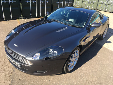 Aston Martin DB9 - Gloss Enhancement Detail