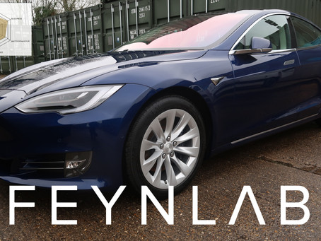 Tesla Model S 75D - New Car Protection Feynlab Ceramic