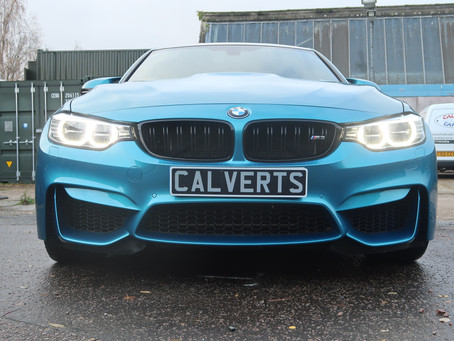 BMW M3 F80 Atlantis Blue - Feynlab Ceramic