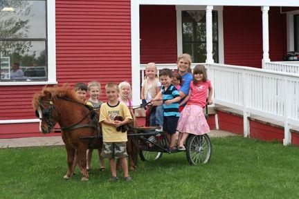 8-Child Pony Party