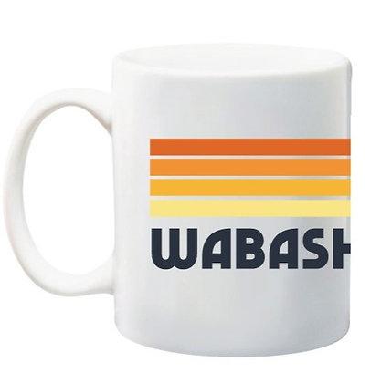 WABASH INDIANA MUG
