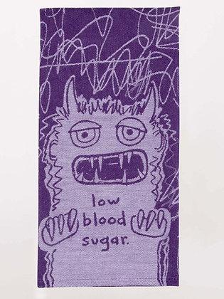 LOW BLOOD SUGAR DISH TOWEL