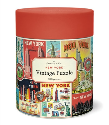 NEW YORK 500 PIECE PUZZLE
