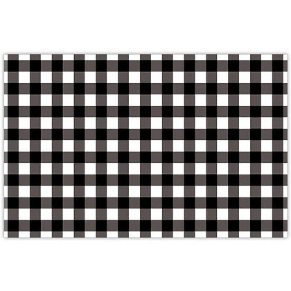 BLACK GINGHAM PLACEMATS