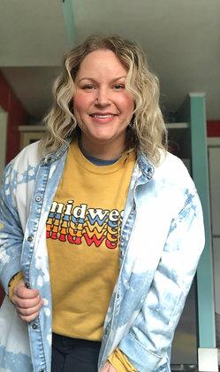Midwest Crewneck Mustard