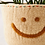 Thumbnail: HAPPY FACE FELTED PLANTER COVER