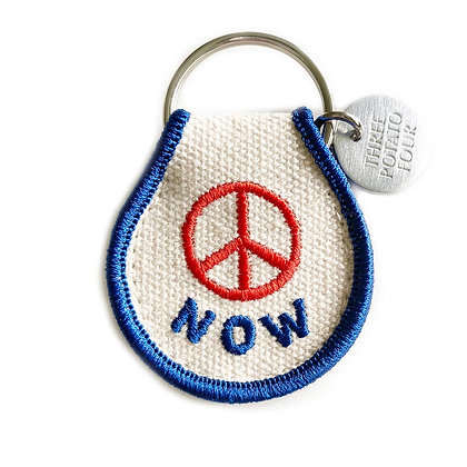 PATCH KEYCHAIN-PEACE NOW