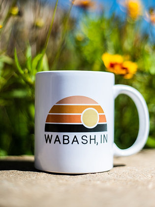 WABASH SUNST RAINBOW MUG
