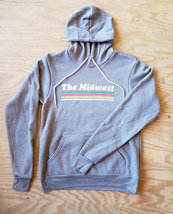 THE MIDWEST GRAY HOODIE