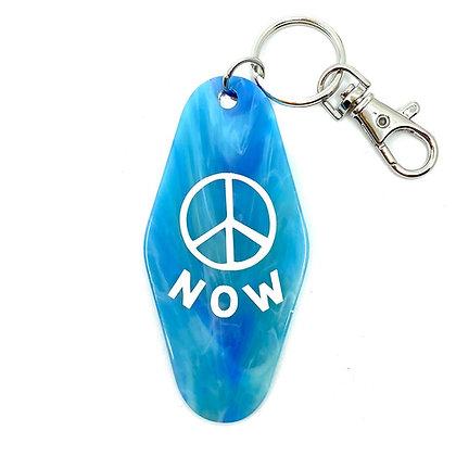 KEY TAG- PEACE NOW