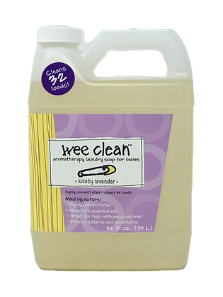 ZUM WEE CLEAN BABY LAVENDER LAUNDRY SOAP