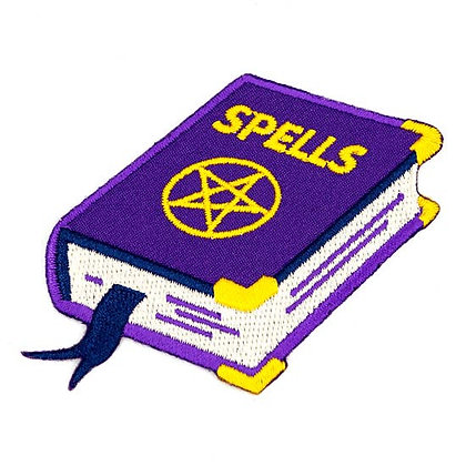 SPELLS EMBROIDERED IRON-ON PATCH