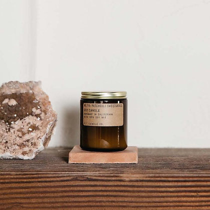 PATCHOULI + SWEETGRASS CANDLE