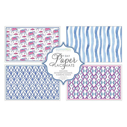 DRESSED UP ELEPHANT PLACEMATS