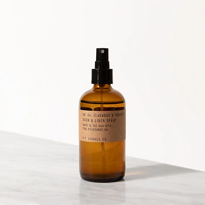 TOBACCO + PATCHOULI ROOM AND LINEN SPRAY