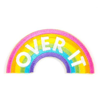 OVER IT EMBROIDERED IRON - ON PATCH