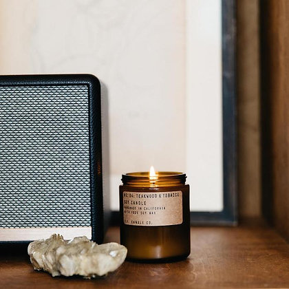 TEAKWOOD + TOBACCO CANDLE