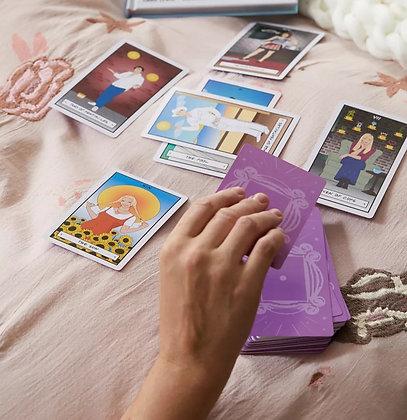 FRIENDS TAROT CARD DECK AND BOOK GIFT SET