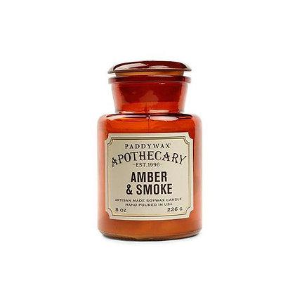AMBER + SMOKE CANDLE
