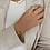 Thumbnail: Gold Brass Chunky Chain Bracelet