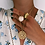 Thumbnail: Cubic Zirconia Disc Necklace