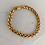 Thumbnail: Gold Braided Chain Bracelet